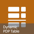 PDP Table